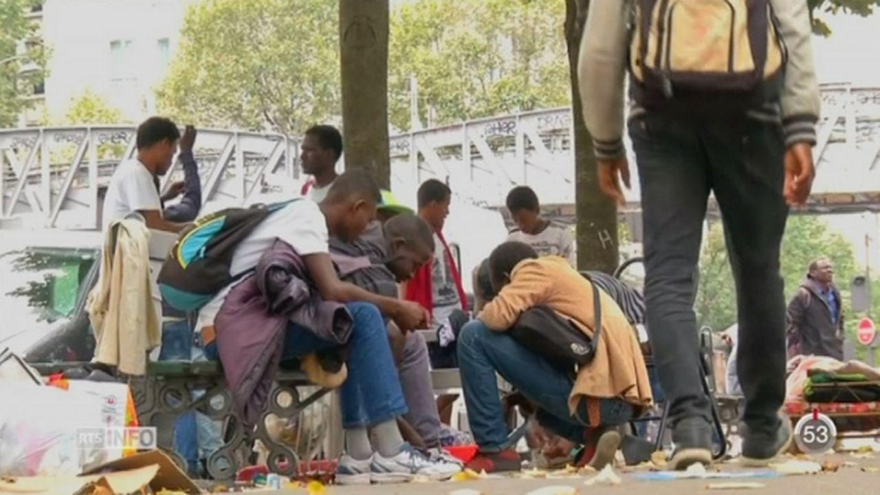 Paris aura bientôt son premier centre d'accueil des réfugiés [RTS]