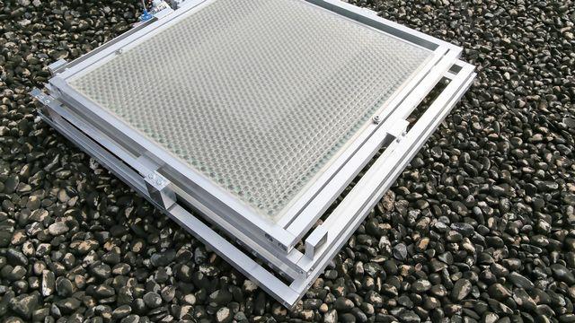 Un panneau solaire mis au point par la start-up de l'EPFL Insolight. Insolight EPFL [Insolight]