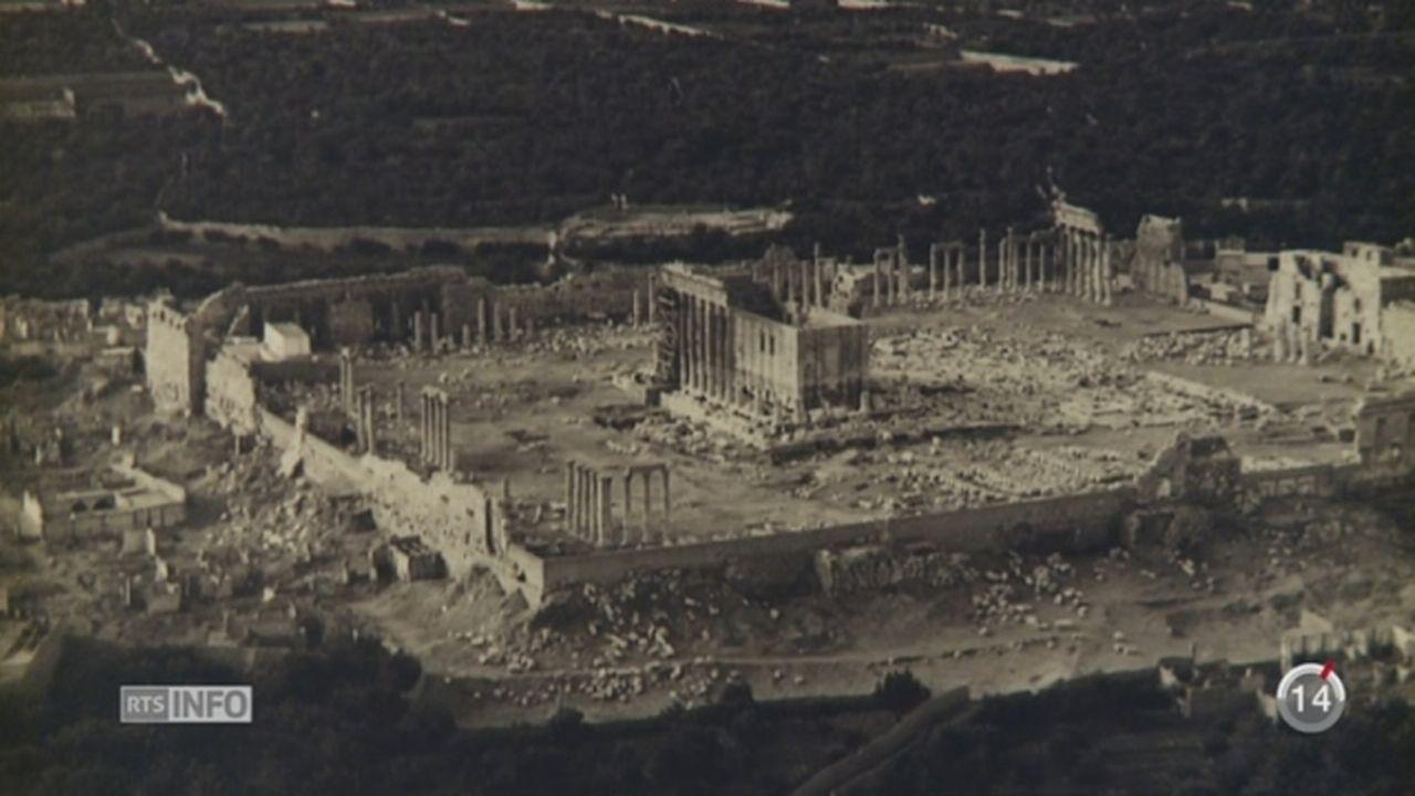 NE: le Laténium expose les photographies de Palmyre d'Antoine Poidebard [RTS]