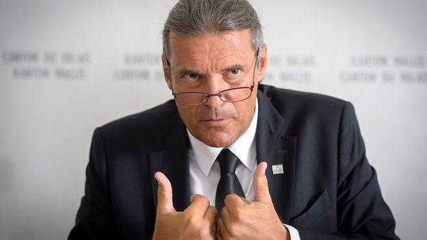 Elections valaisannes: Oskar Freysinger n'a pas été réélu au Conseil d'Etat