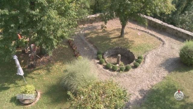 VD: des jardins suspendus sont à découvrir à Moudon pour les Journées européennes du Patrimoine [RTS]