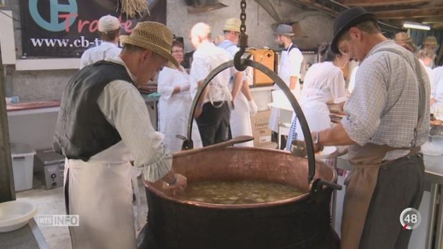 FR - En terrain connu: la Benichon est une tradition familiale qui remporte un franc succès [RTS]
