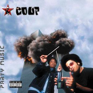 """La pochette de l'album """"Party Music"""" de The Coup. [75 Ark/Tommy Boy/Warner Bros. Records]"""