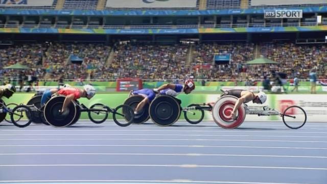 messieurs, 5000 m: Marcel Hug débloque le compteur pour la Suisse en remportant l'argent [RTS]