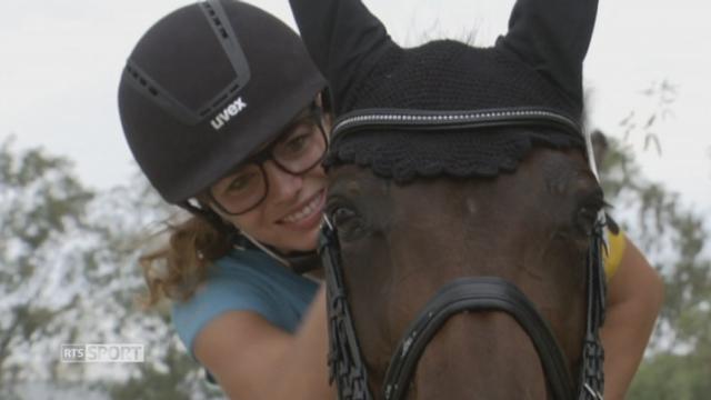 Paralympiques 2016 - para-dressage: Céline Van Till vit son rêve à Rio [RTS]