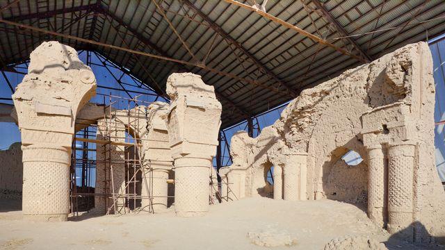 Le site de Balkh au nord de l'Afghanistan abritait l'Or de Bactres, un trésor souvent comparé au trésor egyptien de de Toutânkhamon [Vincent PREVOST  - AFP/Hemis]