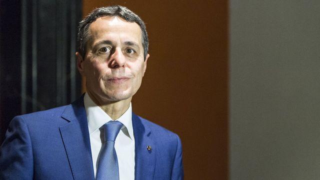 Le conseiller national Ignazio Cassis (PLR/TI). [Dominic Steinmann - Keystone]