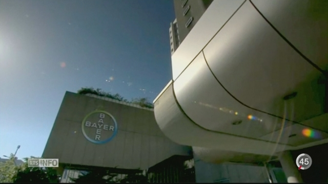 Bayer rachète Monsanto pour 64 milliards de francs [RTS]