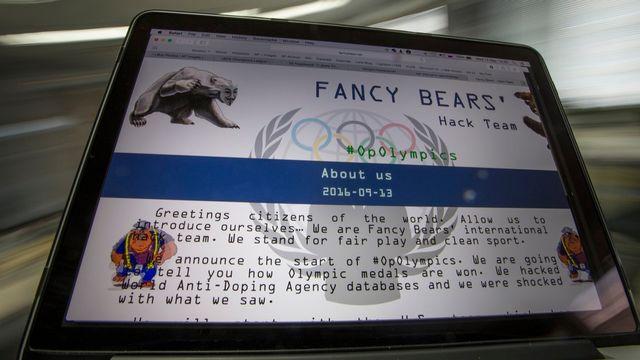 """""""Fancy Bears"""" fait encore parler de lui. [Alexander Zemlianichenko - Keystone]"""