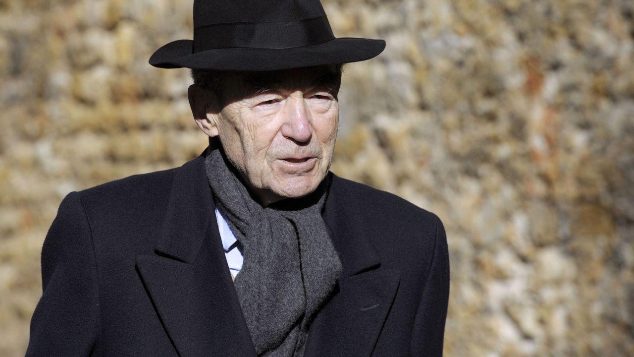 L'ancien ministre français de la Justice Robert Badinter. [Alain Jocard - Pool/AFP]