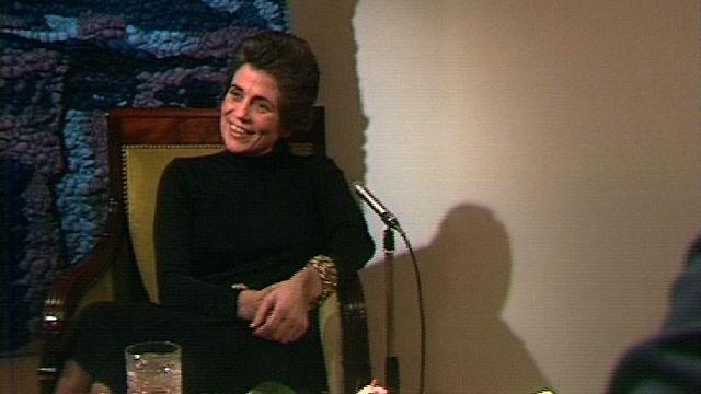 Françoise Giroud en 1972. [RTS]