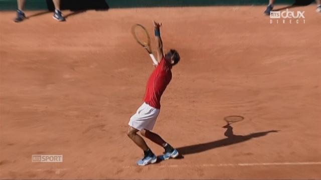 Barrage, Ouzbékistan - Suisse (2-6, 2-6, 2-6): Henri Laaksonen (SUI) gagne ce 3e set et remporte le 1er point à son équipe [RTS]