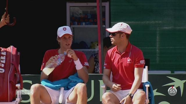 Tennis - Coupe Davis: la Suisse rencontre l'Ouzbékistan en barrage [RTS]