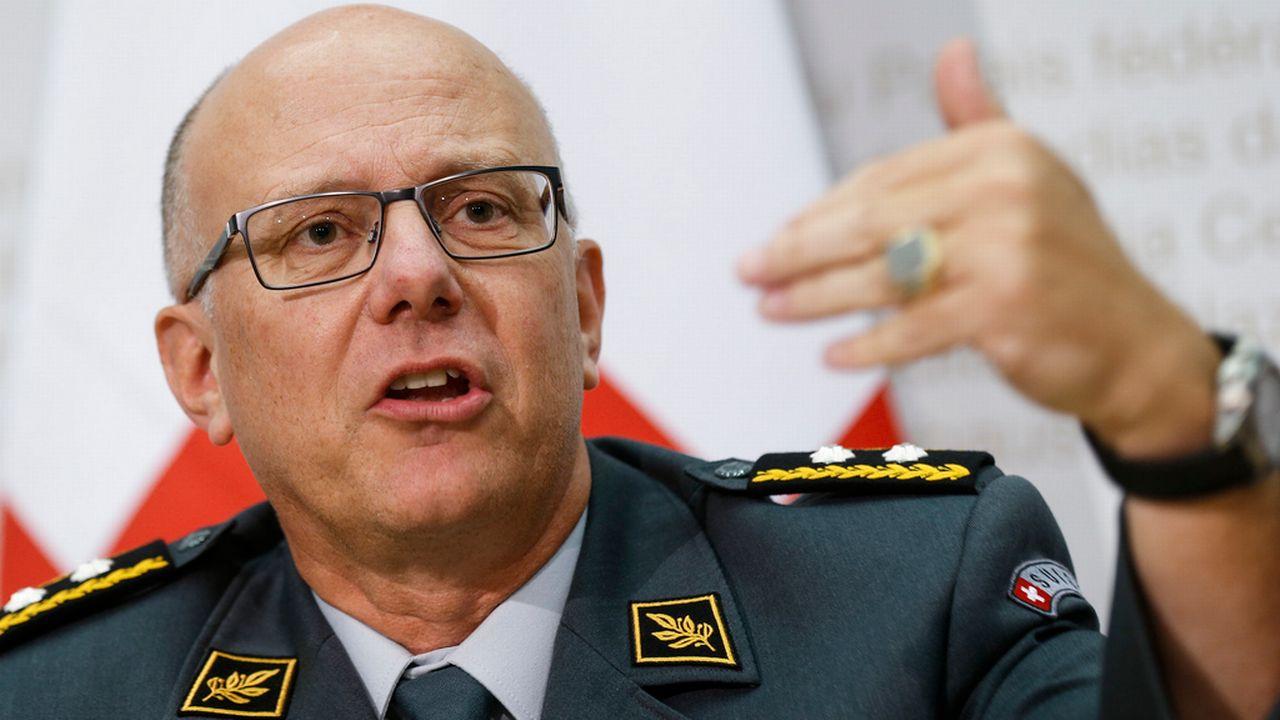 Le Valaisan Philippe Rebord est le nouveau chef de l'armée suisse. [Peter Klaunzer - Keystone]