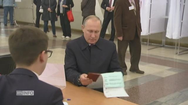 Elections controversées en Russie [RTS]