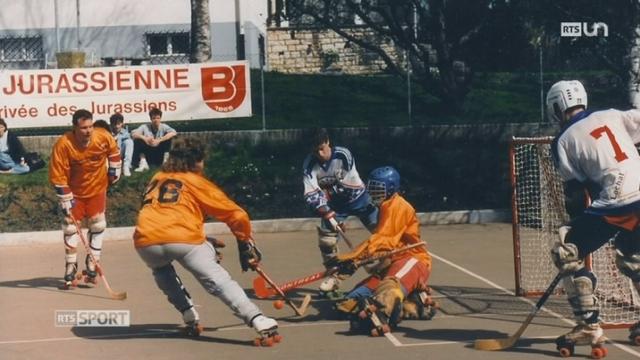 Le Mag: le village de Rossemaison s'est pris de passion pour le Inline-Hockey [RTS]