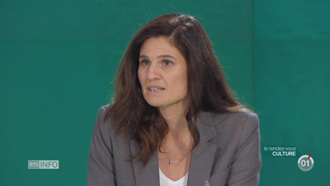 Les invités culturels: Mona Spiridon et Pierre-Yves Frei ont conçu l'exposition «Pas de panique» [RTS]