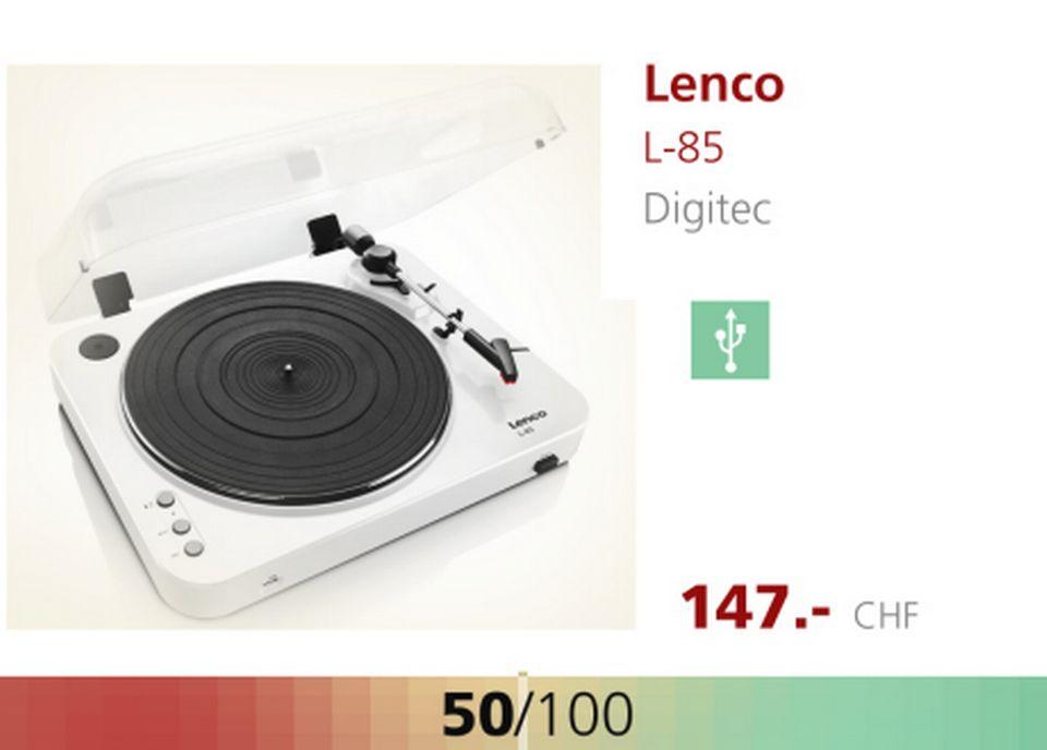Platine LENCO L-85. [RTS]