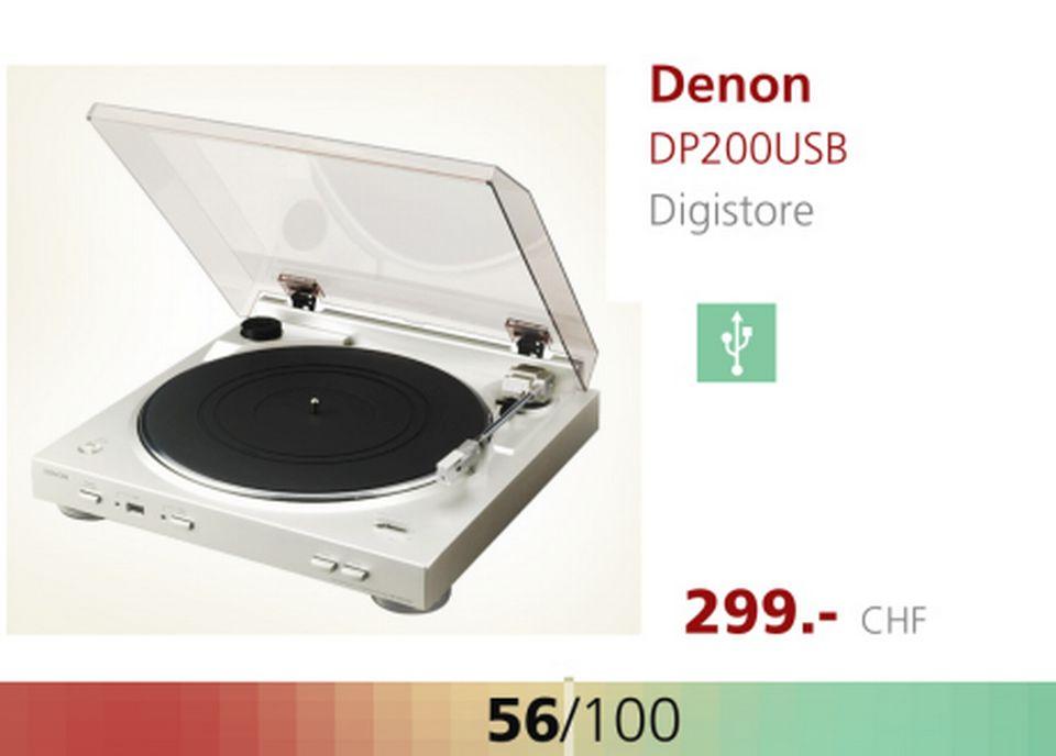 Platine Denon. [RTS]