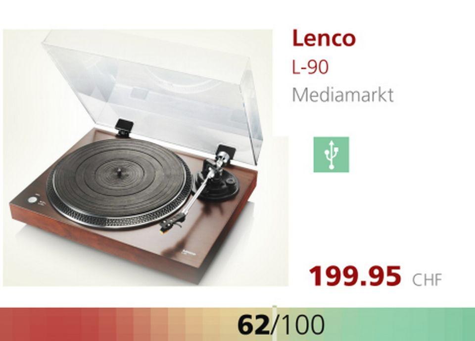 Platine Lenco L-90. [RTS]