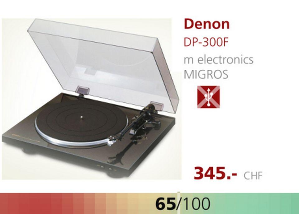 Platine Denon DP-300F. [RTS]
