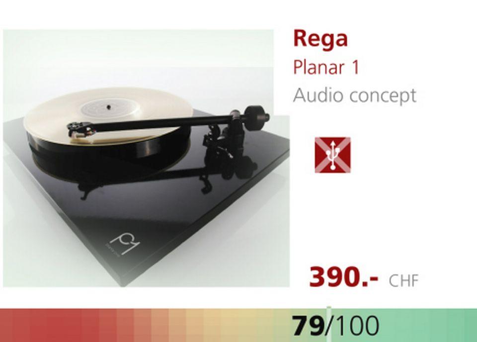 Platine Rega Planar 1. [RTS]