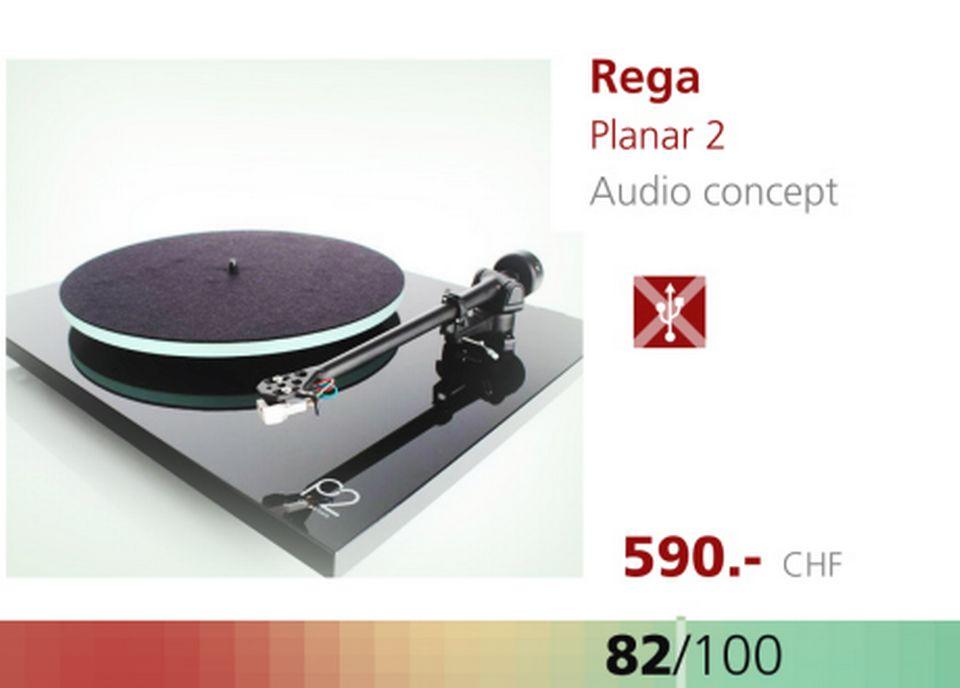 Platine Rega Planar 2. [RTS]