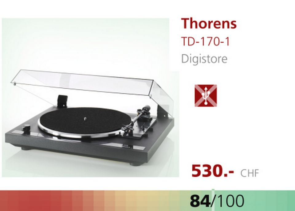 Platine Thorens TD-170-1. [RTS]