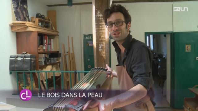 VD: un luthier fabrique des instruments rares dans son atelier à Vevey [RTS]