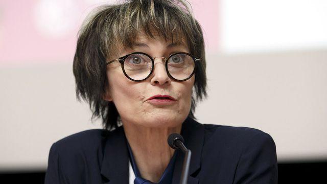 L'ancienne conseillère fédérale Micheline Calmy-Rey. [Salvatore Di Nolfi - Keystone]