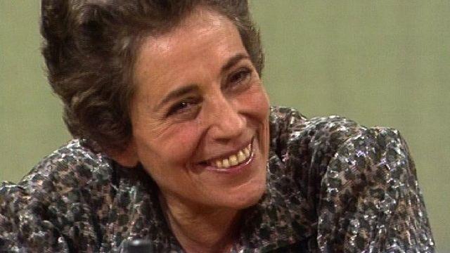 Françoise Giroud en 1978. [RTS]