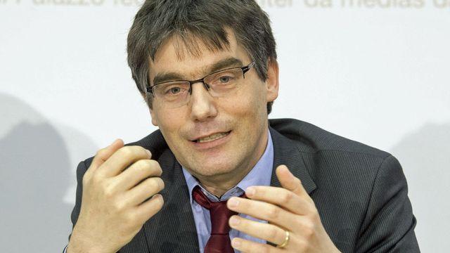 Roger Nordmann, président du groupe socialiste aux Chambres fédérales. [Lukas Lehmann - Keystone]