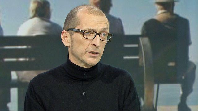 Aldo Ferrari, vice-président d'Unia. [RTS]