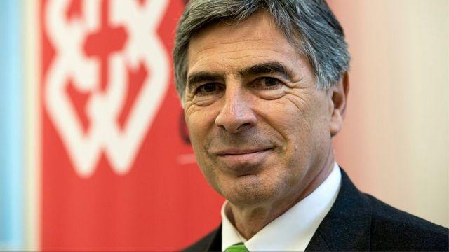 Christoph Eymann, président de la Conférence des directeurs cantonaux de l'instruction publique (CDIP). [Peter Schneider - Keystone]