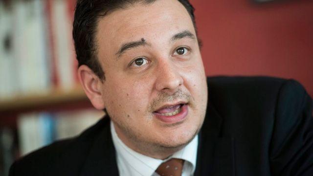 Le conseiller d'Etat neuchâtelois Jean-Nat Karakash. [Jean-Christophe Bott - Keystone]