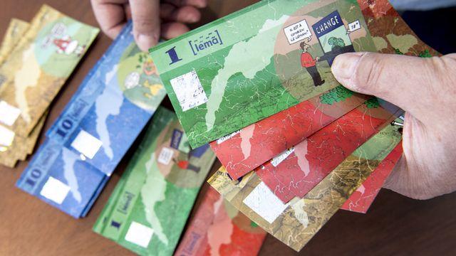 """Une monnaie complémentaire comme le """"Léman"""" peut-elle favoriser l'économie durable? [Laurent Gillieron - Keystone]"""
