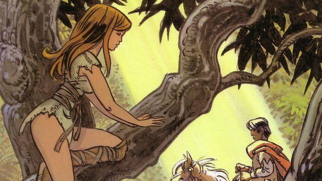 Valérian et Laureline, une série BD créée par Pierre Christin et Jean-Claude Mezières. [Dargaud]
