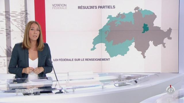 Votations fédérales: Jennifer Covo présente les premiers résultats partiels [RTS]
