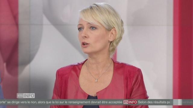 Isabelle Moret (PLR-VD) annonce que le PLR va proposer un troisième projet concernant l'AVS [RTS]