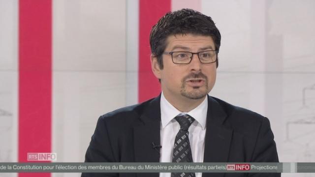 """Yannick Buttet (PDC-VS): """"Je crois que la population suisse a compris que l'initiative pour une économie verte ne servait absolument à rien"""" [RTS]"""