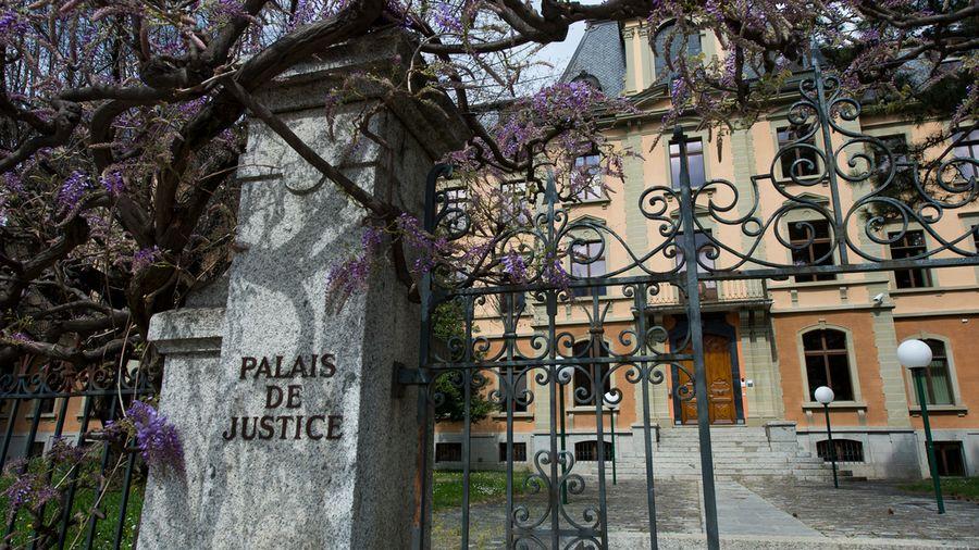 Une vue du Palais de Justice qui abrite notamment le Tribunal Cantonal valaisan.