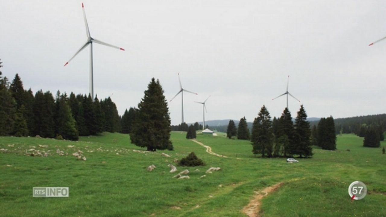 VD - Votations: le projet éolien a été accepté [RTS]
