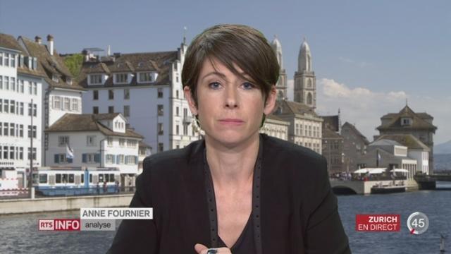 Votations cantonales - Saint-Gall maintient l'enseignement du français: l'analyse d'Anne Fournier, à Zurich [RTS]