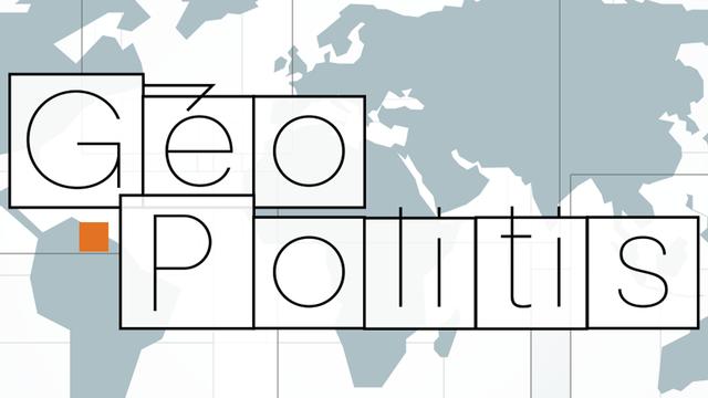 Logo de l'émission : Geopolitis 2016