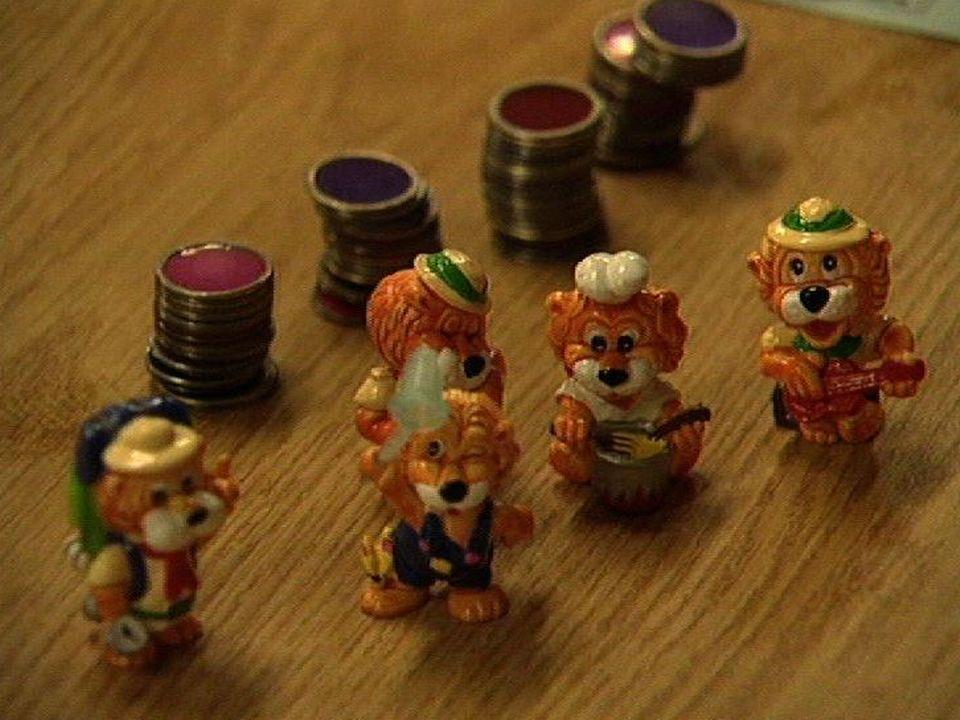 Gris-gris de joueurs de loto en 1995. [RTS]