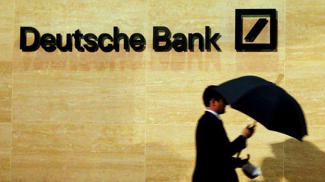 La situation financière de Deutsche Bank menace la stabilité du système financier. [Luke MacGregor - Reuters]