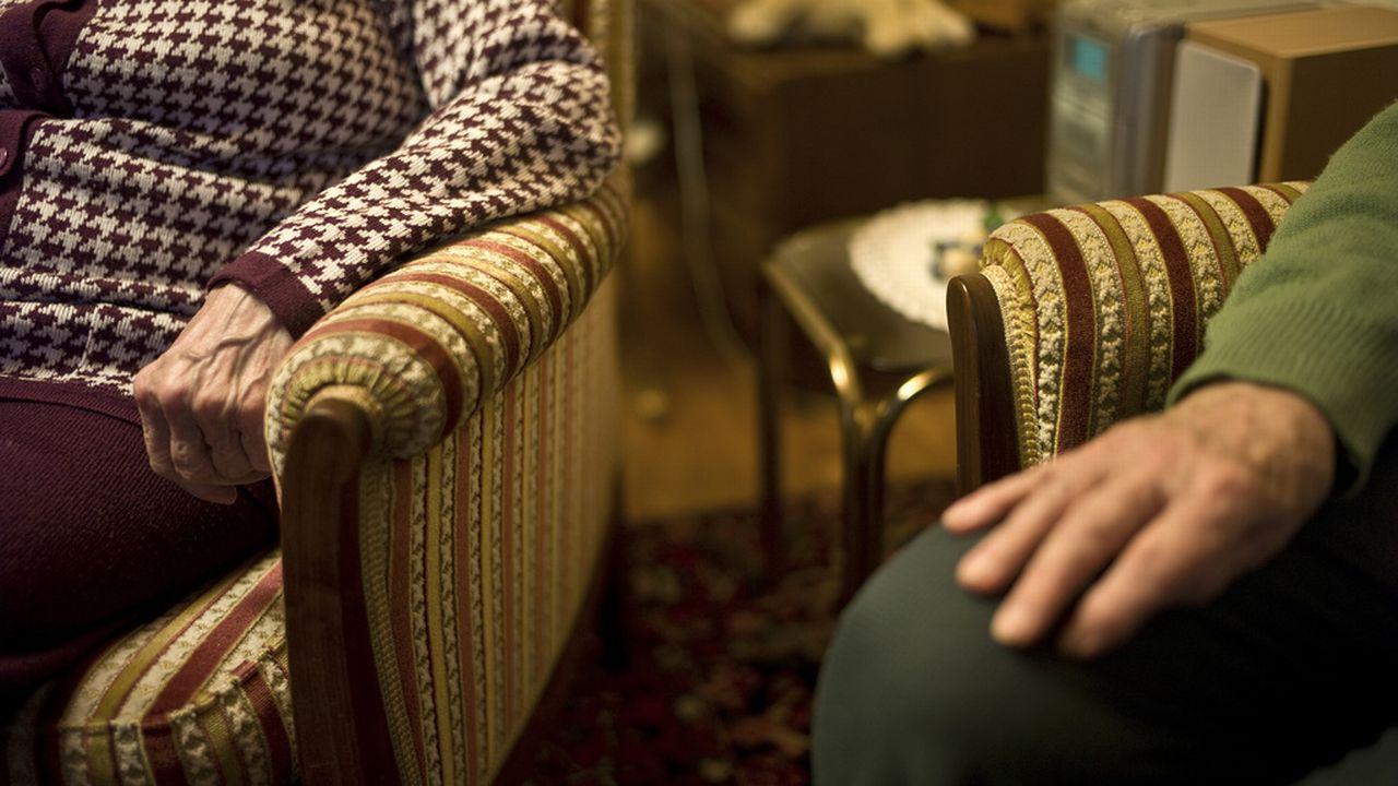 personnes âgées, retraites, AVS, retraités, pension [Martin Ruetschi - Keystone]