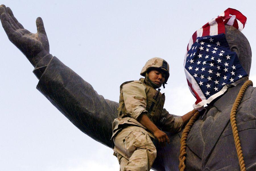 La mission de Bell Pottinger a commencé à la suite de l'invasion américaine de l'Irak.