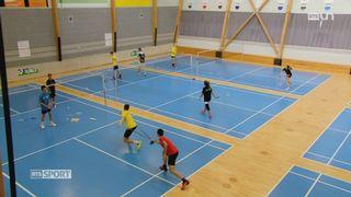 Le Mag: une structure sport-étude dédiée au badminton a été créée [RTS]