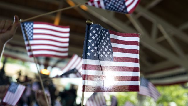 Le drapeau américain. [Saul Loeb - AFP]